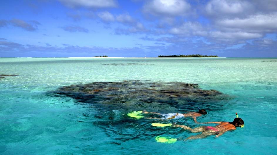 Cook Inseln Pacific Resort Aitutaki Schnorcheln