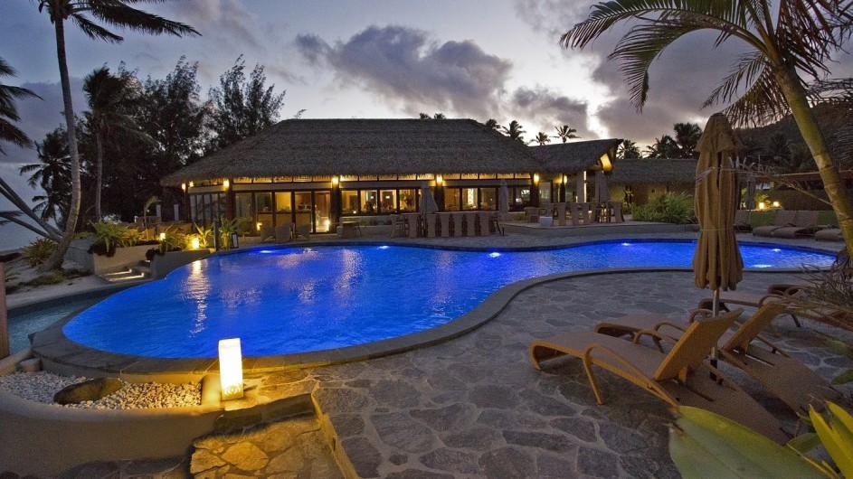 Cook Inseln Rarotonga Nautilus Resort Pool