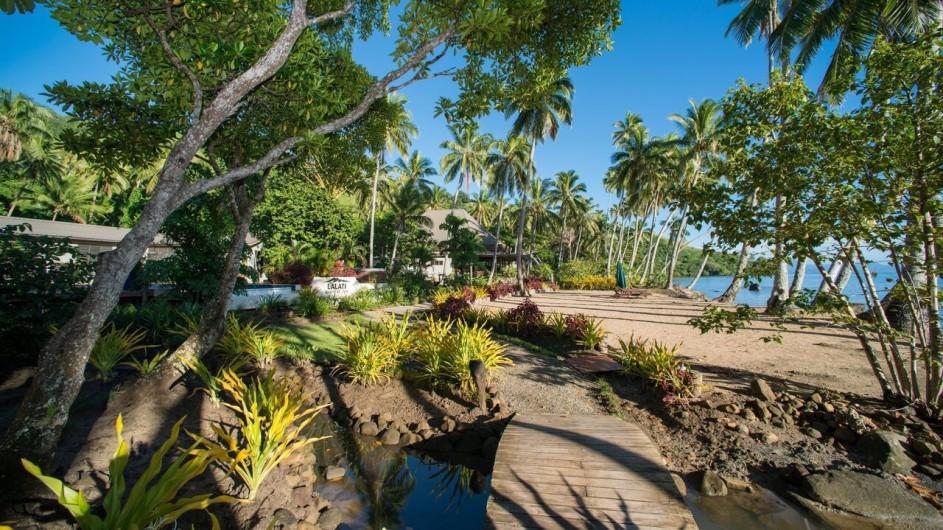 Fiji Inseln Lalita Island Resort Strand