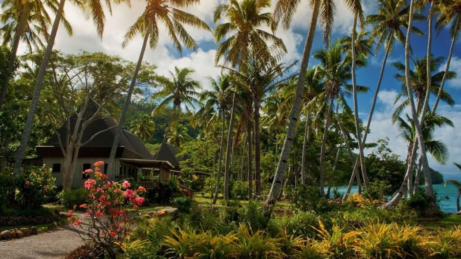 Fiji Inseln Lalita Island Resort Villa aussen