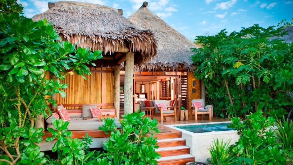 Fiji Inseln Likuliku Lagoon Resort Deluxe Strandbungalow