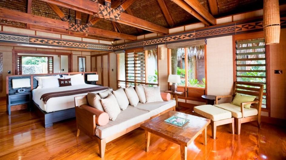 Fiji Inseln Likuliku Lagoon Resort Gartenbungalow Strandbungalow