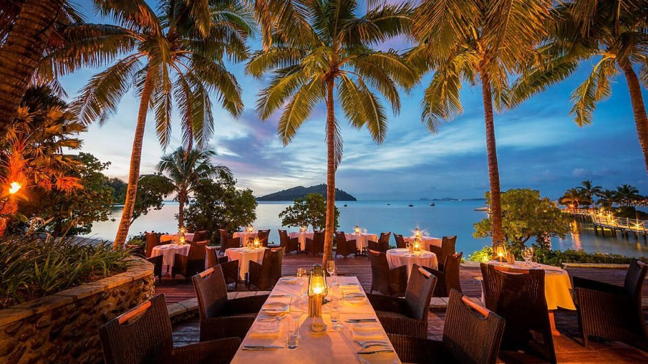Fiji Inseln Likuliku Lagoon Resort Restaurant