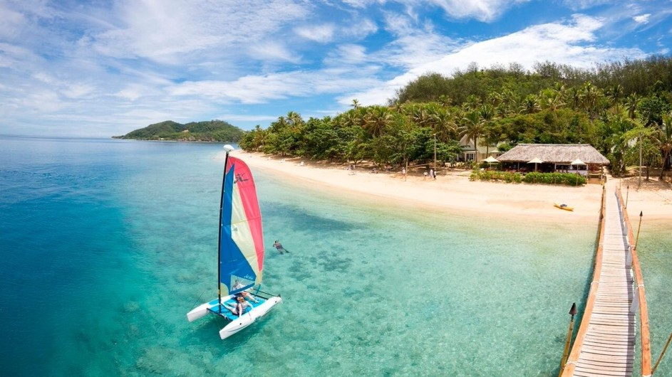 Fiji Malolo Island Resort Strand
