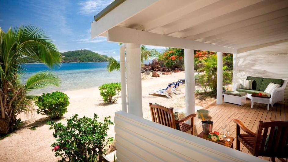 Fiji Malolo Island Resort Tandra Strandbungalow