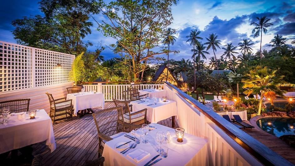 Fiji Malolo Island Resort Treetops Restraurant