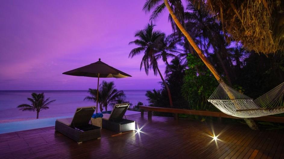 Fiji Inseln Yasawa Island Resort Honeymoon Suite Terrasse