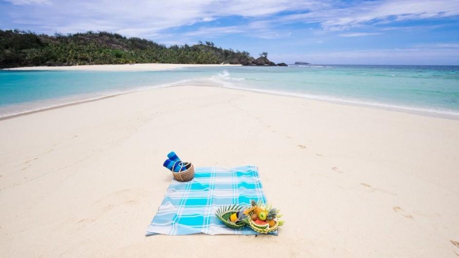 Fiji Inseln Yasawa Island Resort Strand Picknick