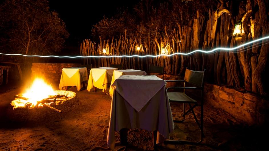 Südafrika Addo Nationalpark Camp Figtree Boma