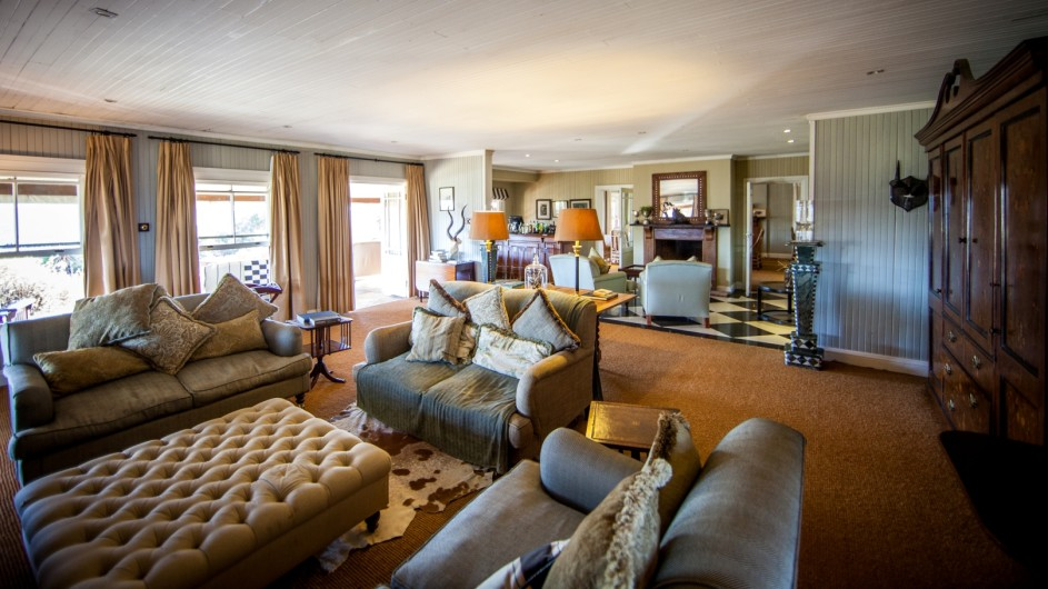Südafrika Addo Nationalpark Camp Figtree Lounge
