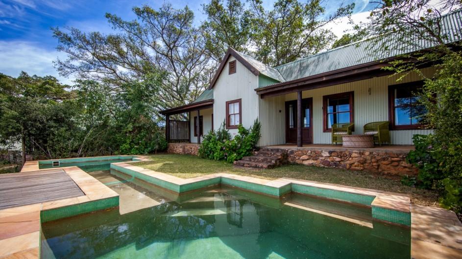 Südafrika Addo Nationalpark Camp Figtree Pool