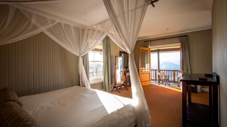 Südafrika Addo Nationalpark Camp Figtree Zimmer mit Aussicht