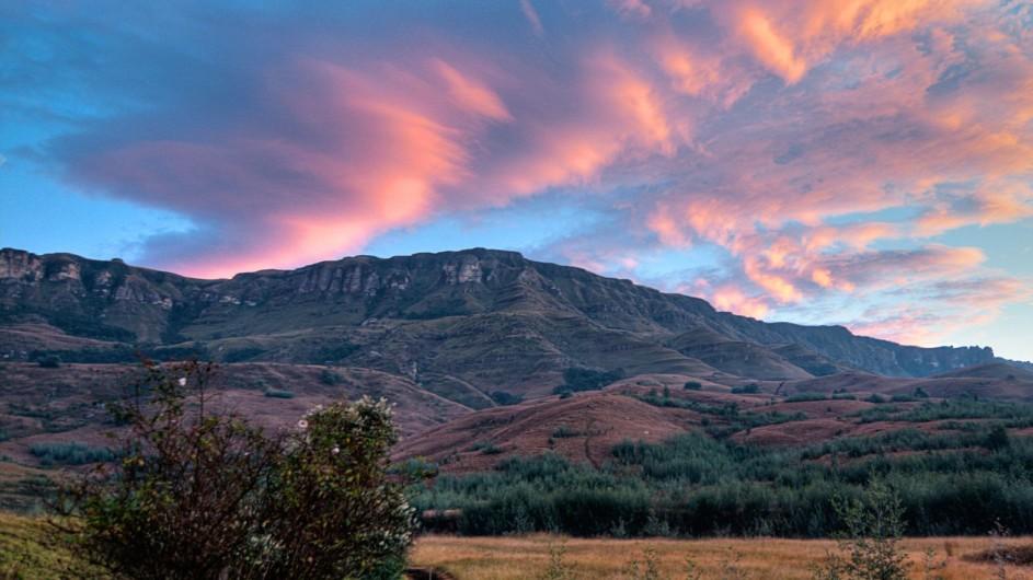 Südafrika Drakensberge Cleopatra Mountain Farmhaus