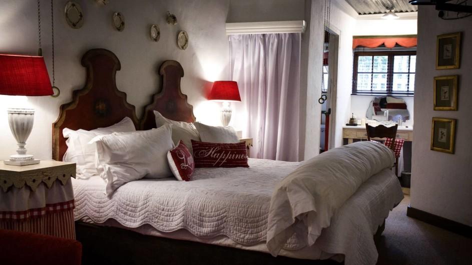 Südafrika Drakensberge Cleopatra Mountain Farmhaus Zimmer 2