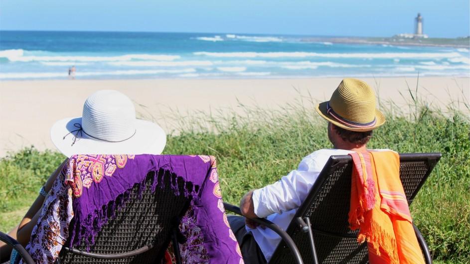 Südafrika Cape St. Francis Beach Break Relaxen im Garten