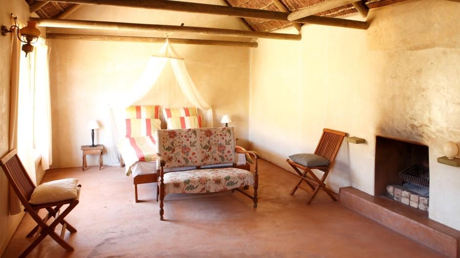 Südafrika Cederberge Enjo Nature Farm Chalet innen