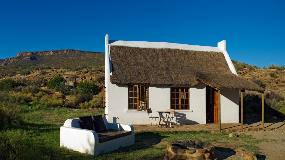 Südafrika Cederberge Enjo Nature Farm Farm Cottage
