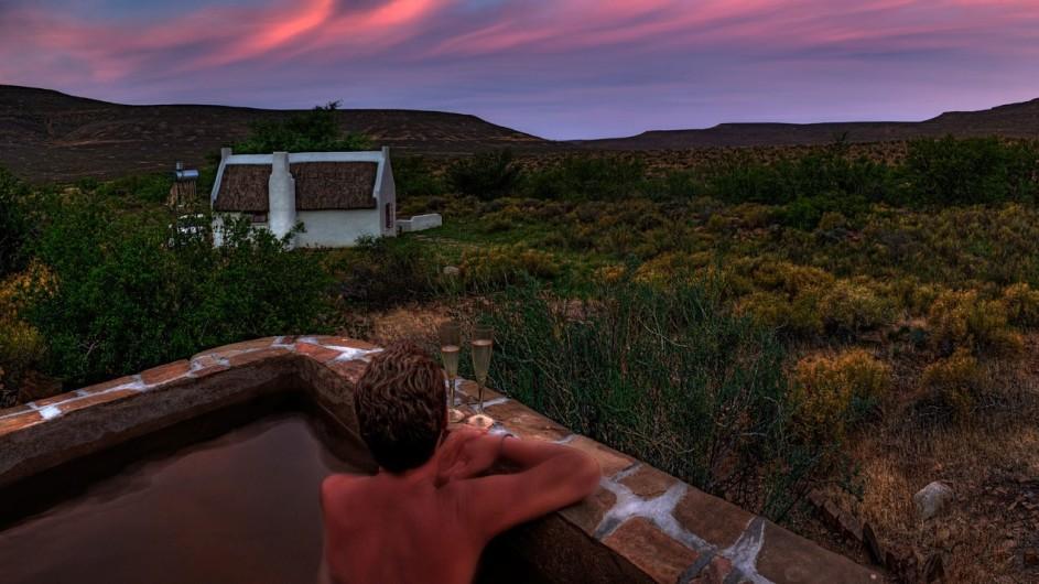 Südafrika Cederberge Enjo Nature Farm Rockpool