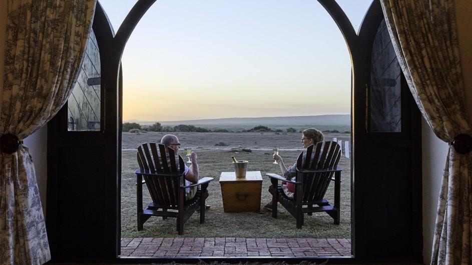 Südafrika De Hoop Collection Vlei Suite Terrasse
