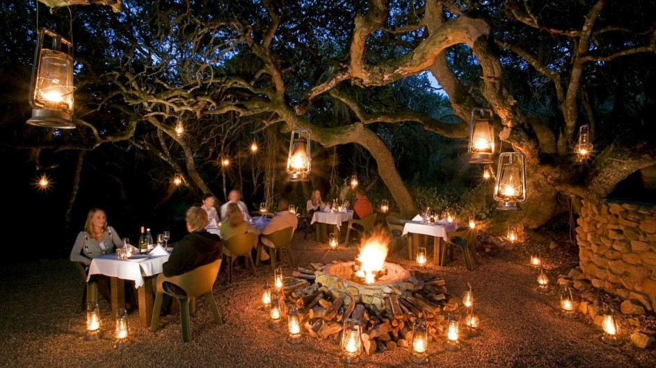 © Grootbos Private Nature Reserve Boma in der Forest Lodge
