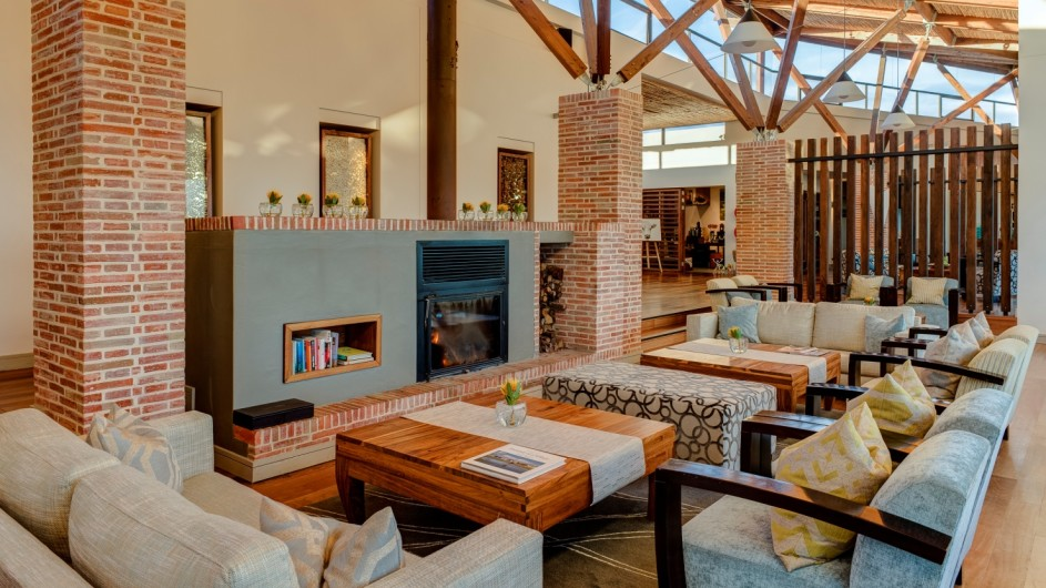 © Grootbos Private Nature Reserve Lounge der Forest Lodge