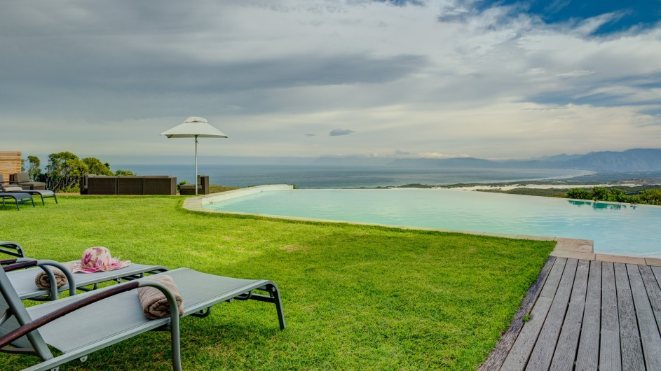 © Grootbos Private Nature Reserve Pool der Forest Lodge