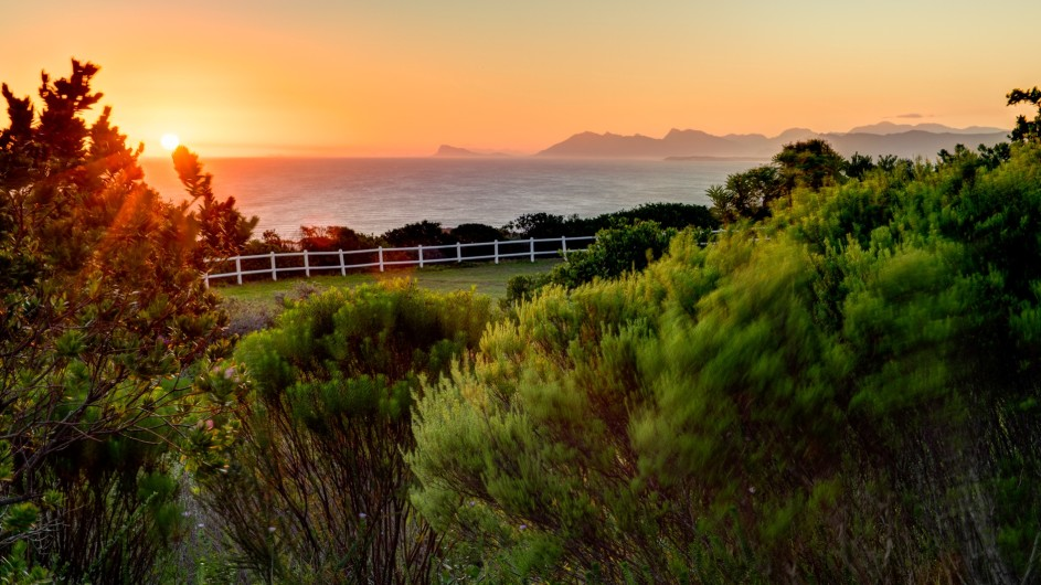 © Grootbos Private Nature Reserve Garden Lodge Aussicht