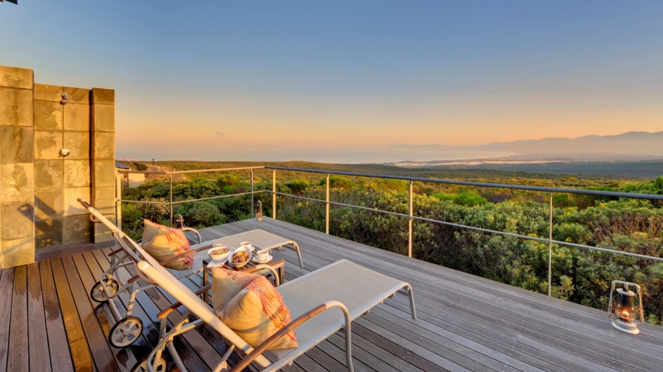 © Grootbos Private Nature Reserve Suite Terrasse