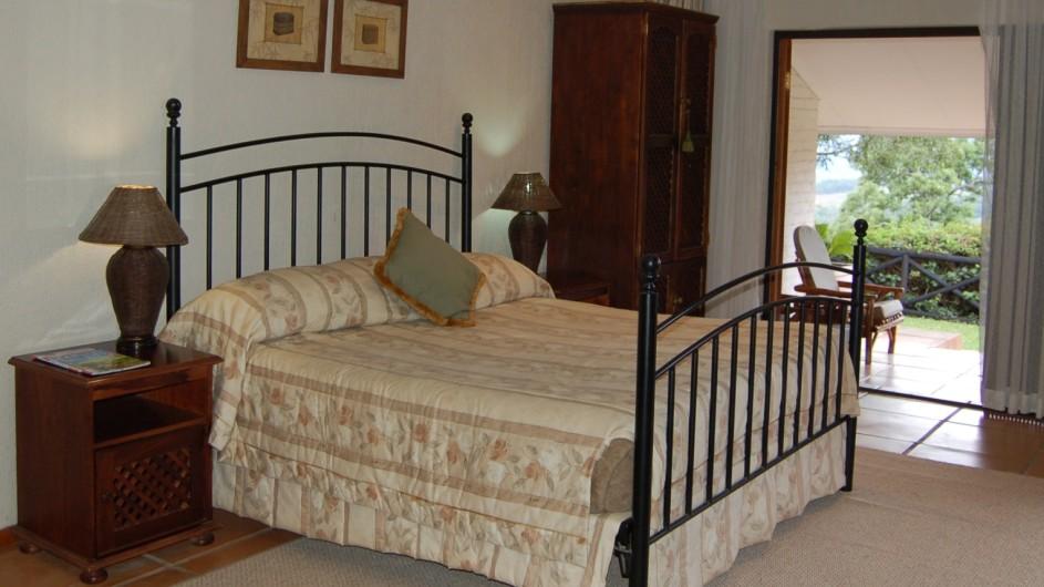 Südafrika Hazyview Chestnut Country Lodge Suite Schlafzimmer