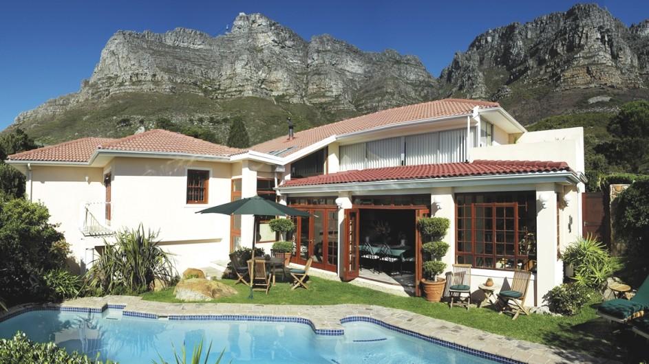 Südafrika Kapstadt Ambiente Gueshouse Außenansicht