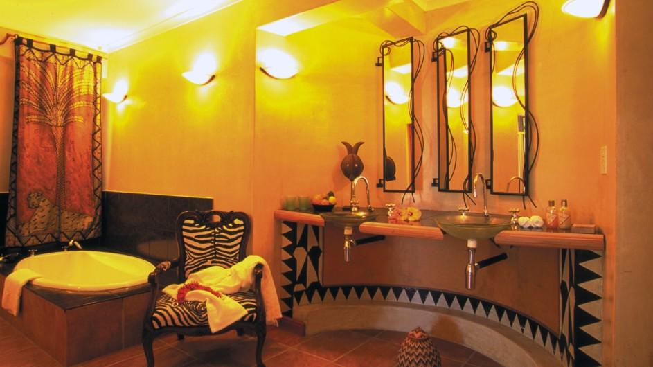 Südafrika Kapstadt Ambiente Gueshouse Suite 1 Badezimmer