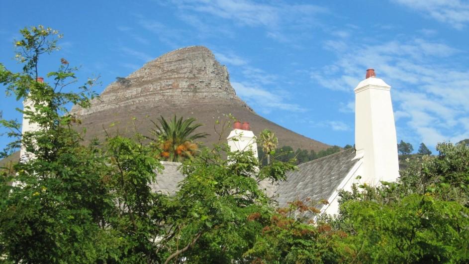 Südafrika Kapstadt An African Villa Ausblick