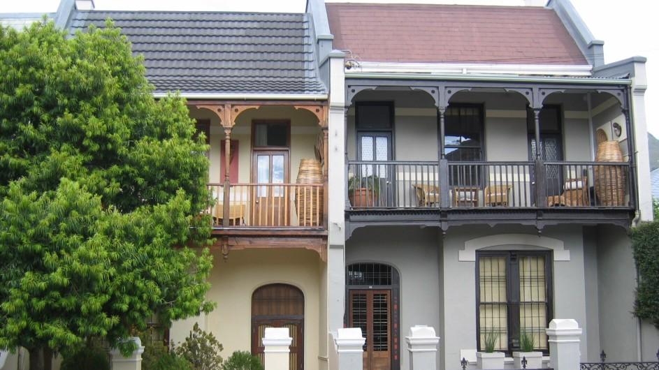 Südafrika Kapstadt An African Villa Aussenansicht