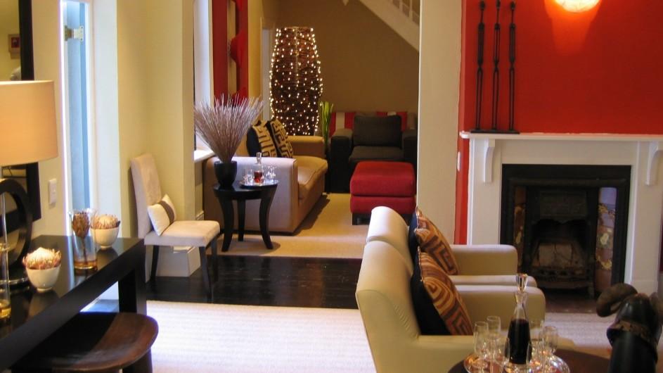 Südafrika Kapstadt An African Villa Lounge