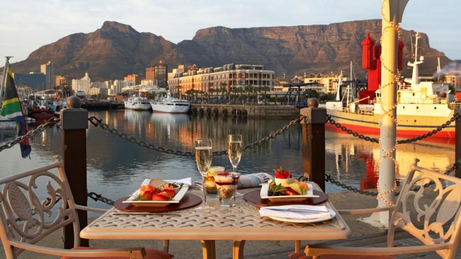 Südafrika Kapstadt Victoria & Alfred Hotel Oyo Restaurant