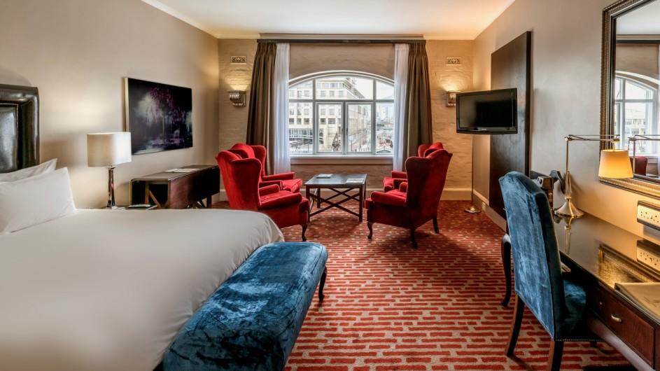 Südafrika Kapstadt Victoria & Alfred Hotel Zimmer