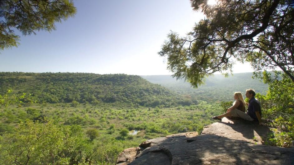 Südafrika Ohrigstad Iketla Lodge Aussichtspunkt