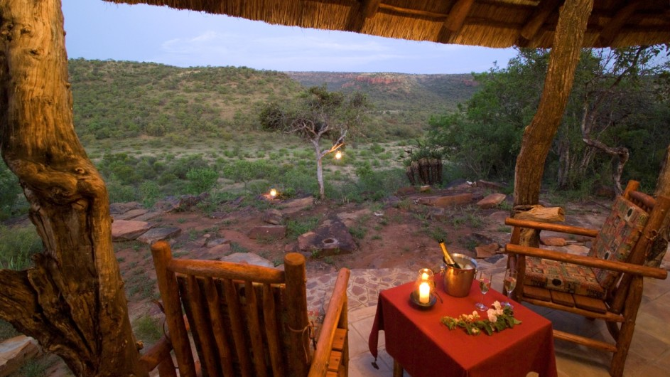 Südafrika Ohrigstad Iketla Lodge Ausblick