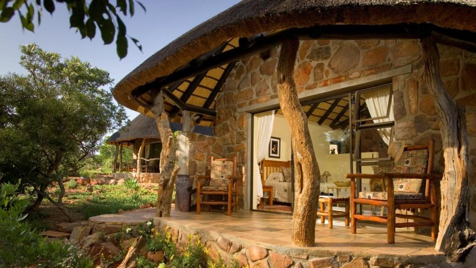 Südafrika Ohrigstad Iketla Lodge Chalet außen