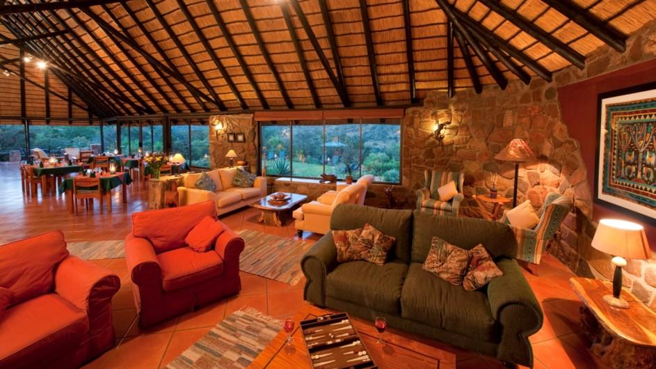 Südafrika Ohrigstad Iketla Lodge Lounge