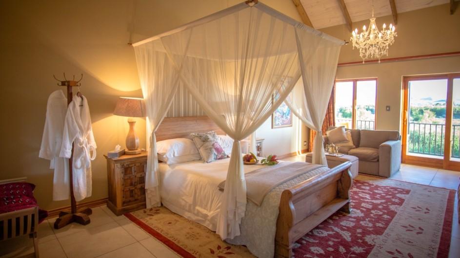 Südafrika Oudtshoorn De Zeekoe Fästefarm Zimmer