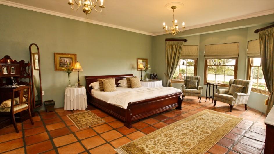 Südafrika Oudtshoorn La PLume Gästehaus Honeymoon Suite