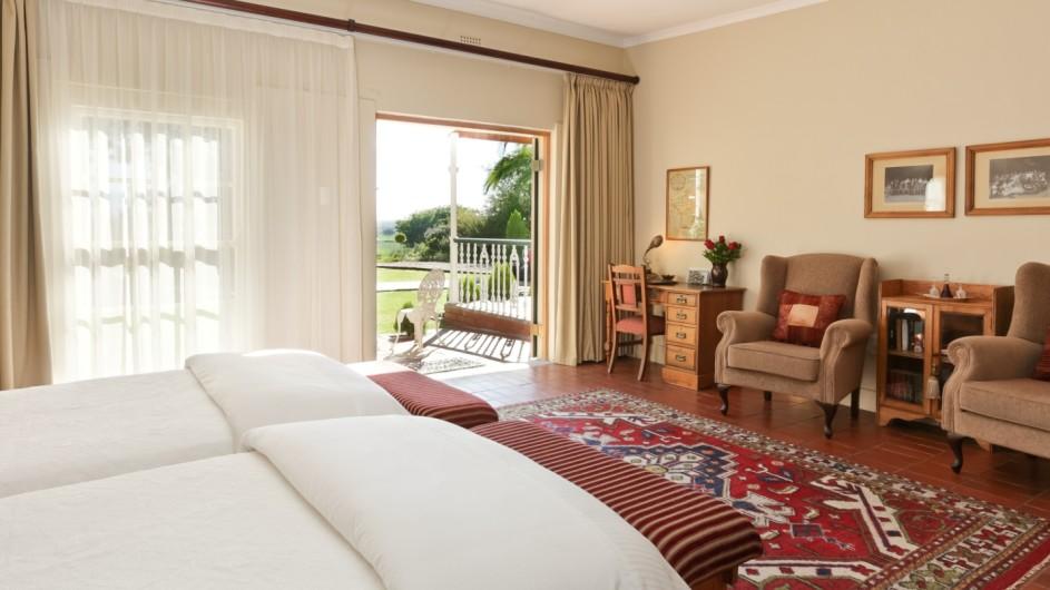 Südafrika Oudtshoorn La PLume Gästehaus Luxuszimmer
