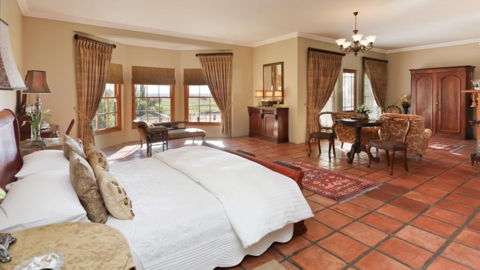Südafrika Oudtshoorn La PLume Gästehaus Suite