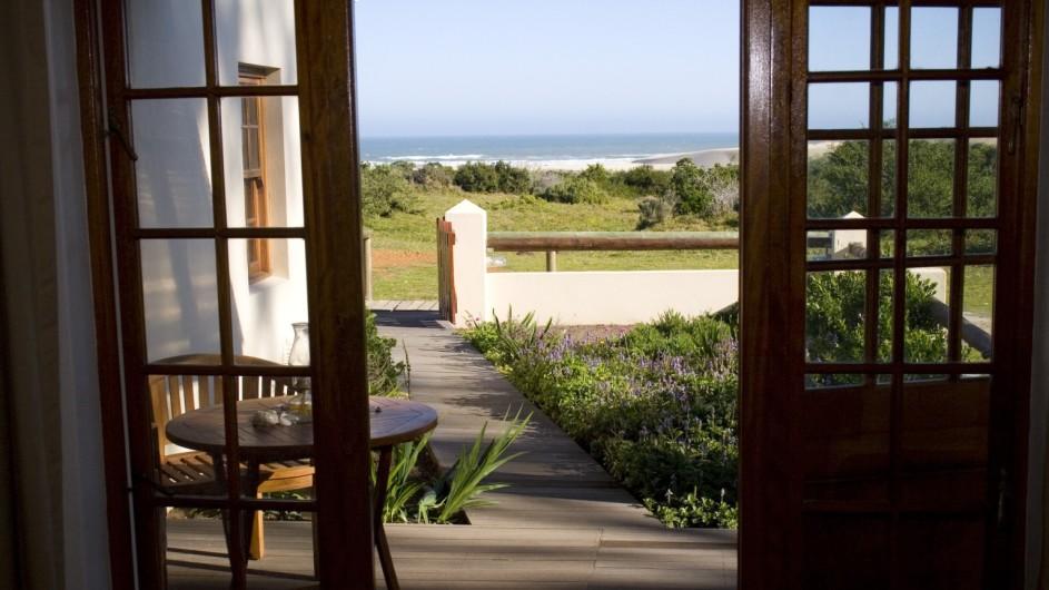 Südafrika Oyster Bay Lodge Meerblick