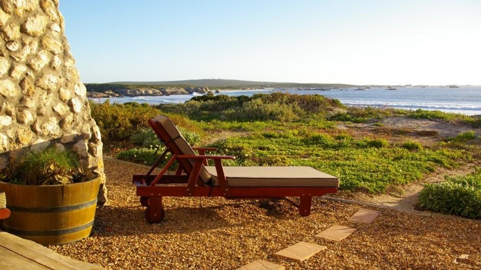 Südafrika Paternoster Dunes Guesthouse Aussicht