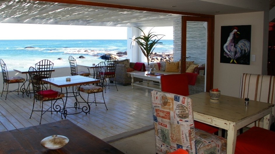 Südafrika Paternoster Dunes Guesthouse Terrasse