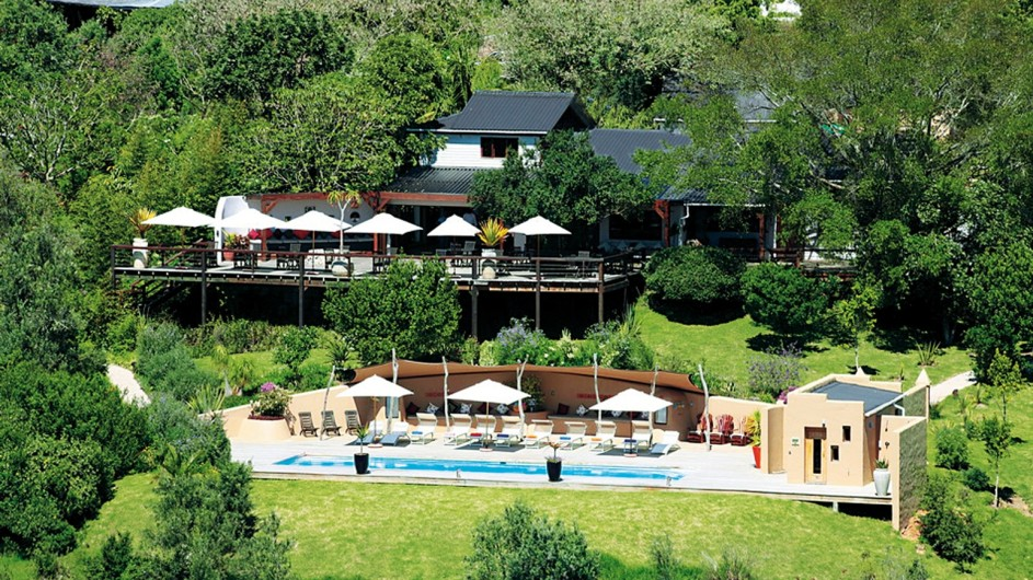 Südafrika Plettenberg BAy Hog Hollow Country Lodge Ansicht