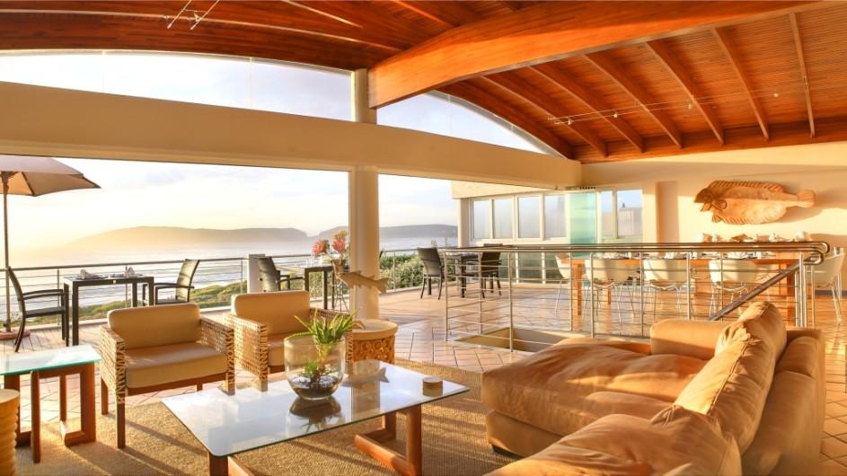 Südafrika Plettenberg Bay Lodge Lounge