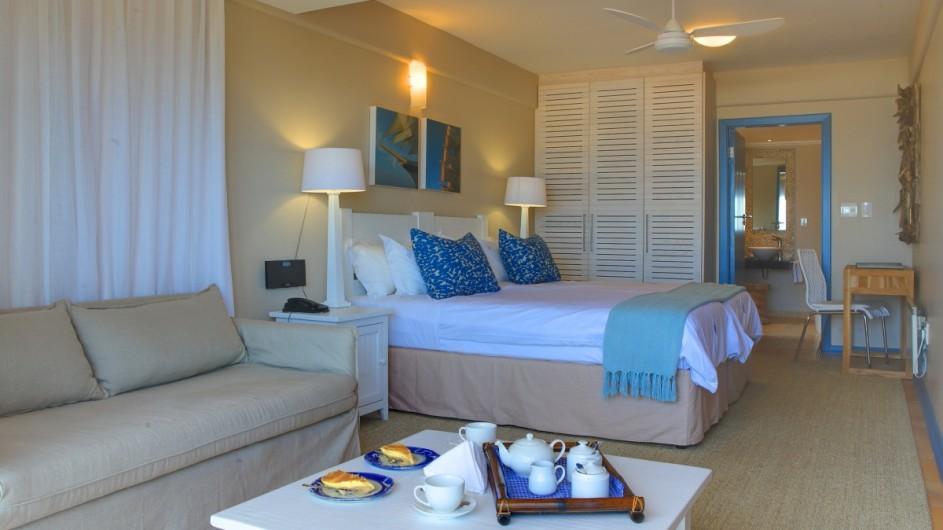 Südafrika Plettenberg Bay Lodge Zimmer innen